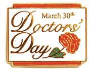 Check out the deal on Doctors' Day Lapel Pin with Butterfly Clutch at DoctorsDay.org