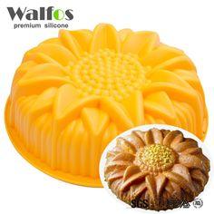 Grande torta del silicone della muffa della muffa dolce grande forma di girasole stampo pasticceria in nota!!!molti venditori uso del materiale del silicone falso per copiare WALFOS prodotti di recente.tutti i prodotti avrda   su AliExpress.com | Gruppo Alibaba