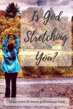 """""""A person can't be stretched to the full ends of his potential all at once or he will break."""" Ain't that the truth? I'm so thankful that God stretches a little then helps us adjust. Then stretches a little more. Read more about flexibility in our walk with Christ from Cynthia Royer over on the blog:"""