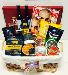 Gift Baskets are a fun idea. Our range of entertaining gift hampers are loaded with toys, puzzles, gadgets and gifts for men, women, and children. Our huge range of fun gift idea packages are suitable for every occasion and personality. Gift Baskets For Him, Gifts For Him, Cool Gifts, Best Gifts, Gift Hampers, Football, Entertaining, Fun, Soccer
