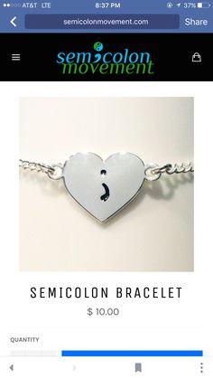 Mental awareness bracelet