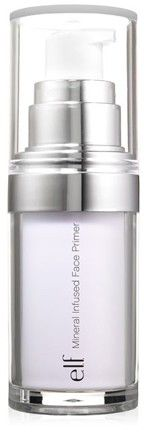 This is one of my favorites on e.l.f.: Mineral Infused Face Primer. Use this special link and get five dollars off.