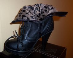 Moto Bootie - Last Pair Size 10 and Lowest Price Ever!  $24.99