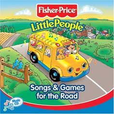 Fisher Price - Little People: Songs and Games for the Road MUSIC.  Avoid boredom and the dreaded Are we there yet? on your next road trip with this collection of favorite Songs & Games for the Road. While you focus on driving, let the Little People characters organize the fun. Your children will love to sing along, rhyme, count, and laugh at the silly tongue twisters and before you know it, you will have arrived!  Bought at Talize for $1.99cdn.