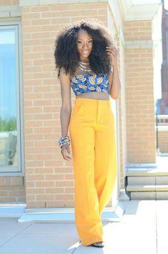 Zara wide yellow trousers size 34. 36 S , XS 60€