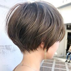 Pin on 髪型 Short Hair Syles, Short Hair Lengths, Short Hair Styles Easy, Girl Short Hair, Short Hair Cuts, Short Hairstyles Fine, Hairstyles Haircuts, Cool Hairstyles, Hair Places