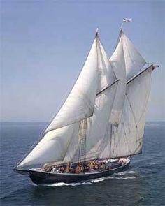 BLUENOSE II Schooner - Halifax , Nova Scotia, Canada