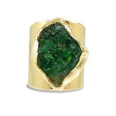 Raw Emerald Ring Emerald May Birthstone Raw Gemstone Ring Natural Emerald Rings, Raw Emerald, Raw Gemstone Ring, Gemstone Jewelry, Raw Stone Jewelry, Floral Engagement Ring, Gold Diamond Wedding Band, Raw Gemstones, Piercings