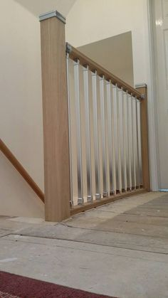 Why not add something a little different with our Axxys range? Updating the material of spindles can give an instant modern finish to any staircase.
