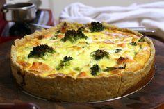 La Cucinetta: Torta de salmão e brócolis