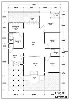 Image Result For Denah Rumah Minimalis Type