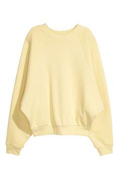 Oversized sweatshirt - Gul - DAM | H&M SE 2