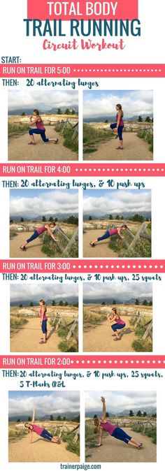 Mix Strength & Cardio with this Trail Running Circuit Workout