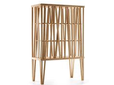 Mobile contenitore in legno MIKADO by Porro | design FRONT