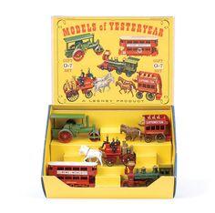 Lesney Matchbox G7 Models Of Yesteryear Gift Set