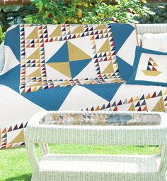 """Fabian's Quilt"" by Cathy Anderson and Denise Gaidis (from Quilt Trends Magazine Summer 2013 issue)"