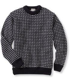 LL Bean Norwegian sweater.there has to be a way to make this look cool? Preppy Mens Fashion, Punk Fashion, Lolita Fashion, Cheap Fashion, Ivy Style, Well Dressed Men, Mens Sweatshirts, Sweater Weather, Look Cool