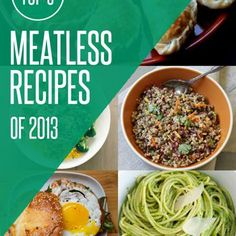 The Top 5 Meatless and Vegetarian Recipes of 2013