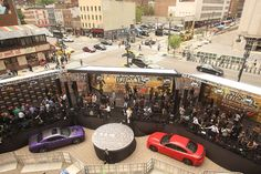 'Teenage Mutant Ninja Turtles: Out of the Shadows': Teenage Mutant Ninja Turtles: Out of the Shadows premiered on May 22 at Madison Square Garden in New York, with sponsorship from Dodge. The massive arrivals line angled around vehicles.