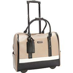 Knomo Bayswater Serra 15 Inch Carry On Wheeled Briefcase