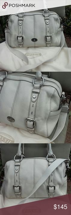 Fossil genuine Leather bag not Comes with dust bag,newer used, Fossil Bags Crossbody Bags