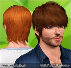 Anubis - Sims Stuff: Peggy Hair 4095 ~ Converted for teen-to-elder