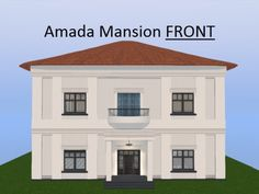 Amada Mansion : Luxury Two Story Stucco House / Villa / Casa ; Clay Tile Roof…