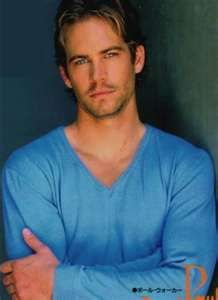 Paul Walker---don't judge me!  I haven't pinned this particular picture yet!!