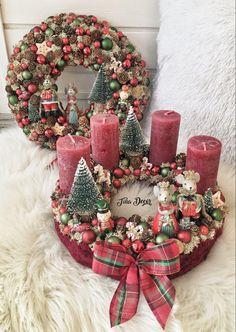 Vintage Christmas Crafts, Christmas Baby, Winter Christmas, Christmas Time, Christmas Wreaths, Merry Christmas, Christmas Decorations, Xmas, Holiday Decor