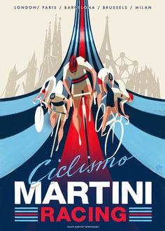 Ideas For Racing Bike Illustration Martini Racing, Bike Silhouette, Bicycle Race, Racing Bike, Bike Illustration, Bike Poster, Small Drawings, Cycling Art, Bike Art