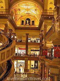 Caesar's Palace Shopping Las Vegas
