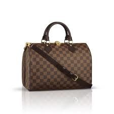 Louis Vuitton Damier Ebene Speedy 30 With Strap N41183