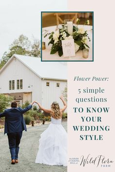 The Barn of Chapel Hill wants you to know what your wedding style is so they've come up with a simple five question quiz to help you narrow down your style. From answering what your favorite flower is to what your favorite color is, you'll have your wedding style results! Floral Centerpieces, Wedding Centerpieces, Wedding Decorations, Farm Wedding, Rustic Wedding, Flora Farms, Family Flowers, Wedding Inspiration, Design Inspiration