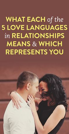 What Each Of The 5 Love Languages in Relationships Means & Which Represents…