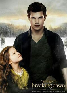 "Renesmee Cullen & Jacob Black in ""The Twilight Saga: Breaking Dawn Part 2""."
