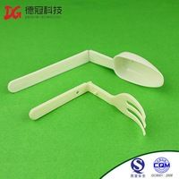 2015 Latest Products Disposable Plastic Fork Spoon Knife In One