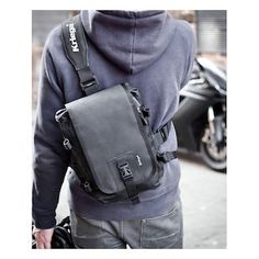 Looking for a men's sling bag to maximize your casual style? Yes, sling bags are perfect for your relaxed situations. But many models of sling bags available may not make you look maximum. Backpack Bags, Sling Backpack, Leather Backpack, Sling Bags, Motorcycle Backpacks, Motorcycle Bags, Edc Bag, Ipad Bag, Chest Rig