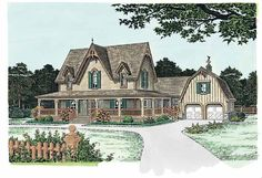 Eplans Gothic Revival House Plan - Versatile Victorian - 2772 Square Feet and 5 Bedrooms from Eplans - House Plan Code HWEPL05144