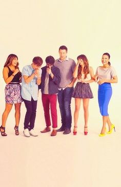 To have the glee cast be like you're family:)