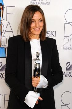 Phoebe Philo, fashion designer. It's no secret that Philo is one of the most respected and powerful designers working today. She's responsible for making Celine and previously, Chloe, cool again and tops just about everyone's list as #1 girl crush.