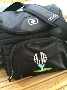 Ogio Cooler 18-24 can cooler monogrammed set of 10 Golf Themed by PTThreads  on 397177a33aad3