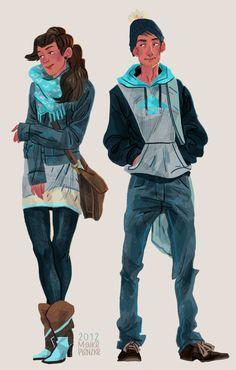 Fashion - Maike Plenzke Illustration