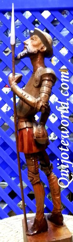 #Quijote de #LaMancha. Trabajos en talleres especializados, #Artesanías en madera y tallado en madera para la #decoración de interiores. Piezas de diseño  hechas a mano, artesanía de la tierra. Traidas directamente de la imaginación de nuestros artesanos. Visita nuestra página www.quijoteworld.com