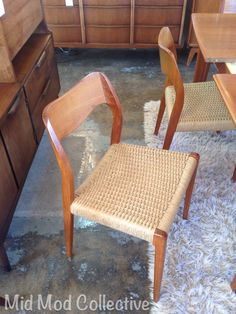 niels moller 55 chair 2 available goes with four 71 niels moller