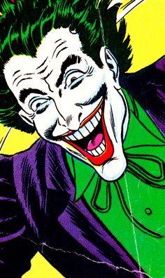 "jthenr-comics-vault: ""jthenr-comics-vault: "" Joker by Murphy Anderson & Joe Giella "" Happy Birthday, Joe Giella! Joker Comic, Joker Pics, Joker Art, Batman Art, Comic Art, Comic Books, Superman, Batman Universe, Joker And Harley Quinn"