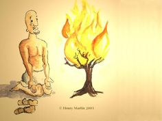 moses and the burning bush - Google Search