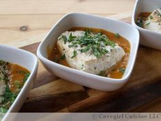 Halibut with an Apricot Sauce // Cave Girl Cuisine