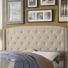You'll love the Martins Upholstered Panel Headboard at Wayfair - Great Deals on all Furniture products with Free Shipping on most stuff, even the big stuff.