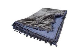 Navy Blue Bedding, Gray Comforter, Grey Throw Blanket, Gray Ombre, Queen Size Quilt, Velvet Quilt, Grey Quilt, Twin Quilt, Cotton Lights
