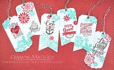 Bible Bookmarks by Dawn McVey for Papertrey Ink (November Bible Bookmark, How To Make Bookmarks, Book Markers, Gift Of Time, Scripture Cards, Ink Stamps, Christmas Tag, Card Templates, How To Introduce Yourself